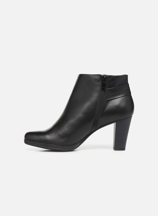 Bottines et boots Dorking Luna 7934 Noir vue face