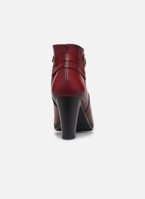 Boots en enkellaarsjes Dorking Luna 7934 Rood rechts