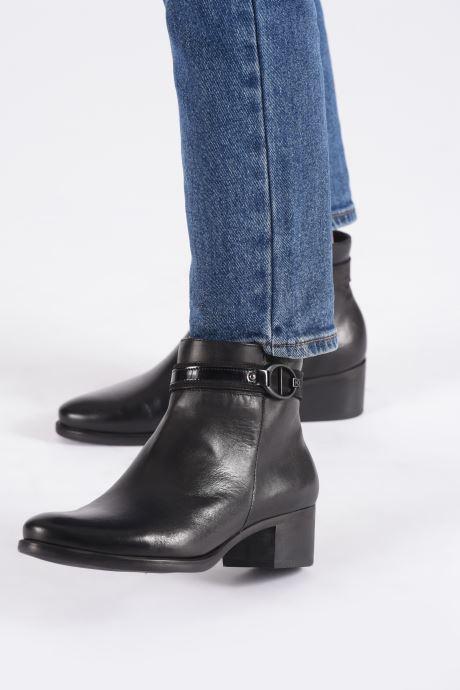 Bottines et boots Dorking Alegria 7952 Noir vue bas / vue portée sac