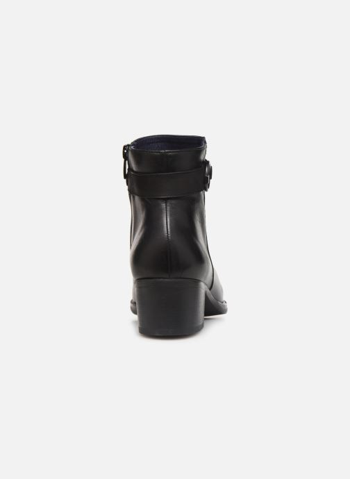 Bottines et boots Dorking Alegria 7952 Noir vue droite