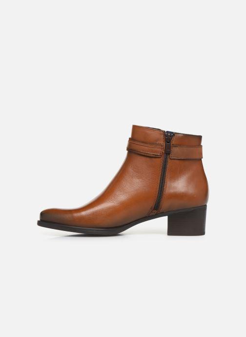 Bottines et boots Dorking Alegria 7952 Marron vue face