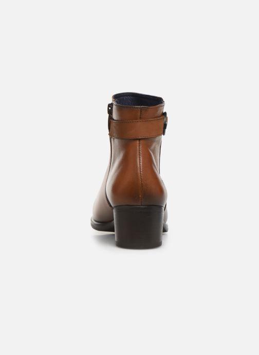 Bottines et boots Dorking Alegria 7952 Marron vue droite