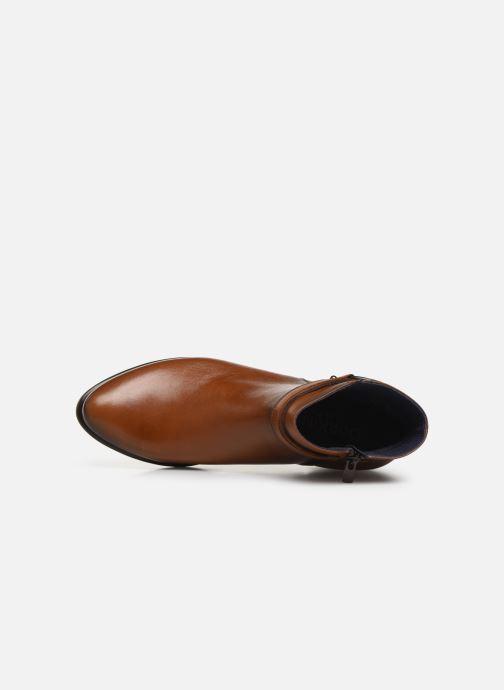 Boots en enkellaarsjes Dorking Alegria 7952 Bruin links