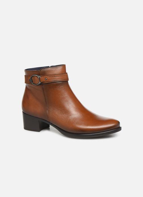 Boots en enkellaarsjes Dorking Alegria 7952 Bruin detail