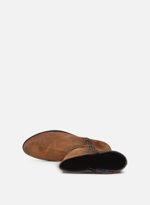 Stiefel Dorking Dulce 8090 braun ansicht von links
