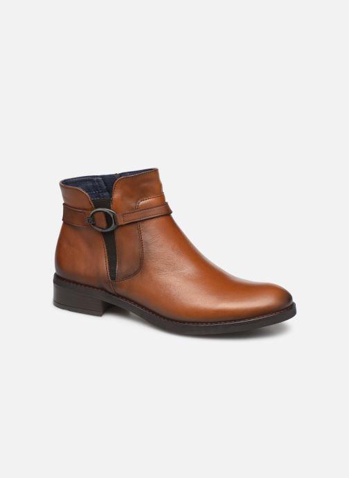 Boots en enkellaarsjes Dorking Tierra 8003 Bruin detail
