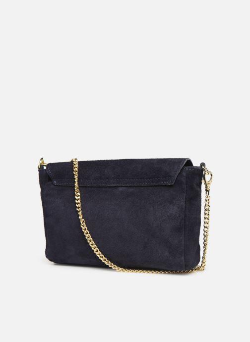 Sacs à main Georgia Rose Meloute Leather Bleu vue droite