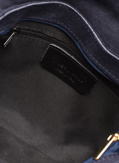 Sacs à main Georgia Rose Meloute Leather Bleu vue derrière