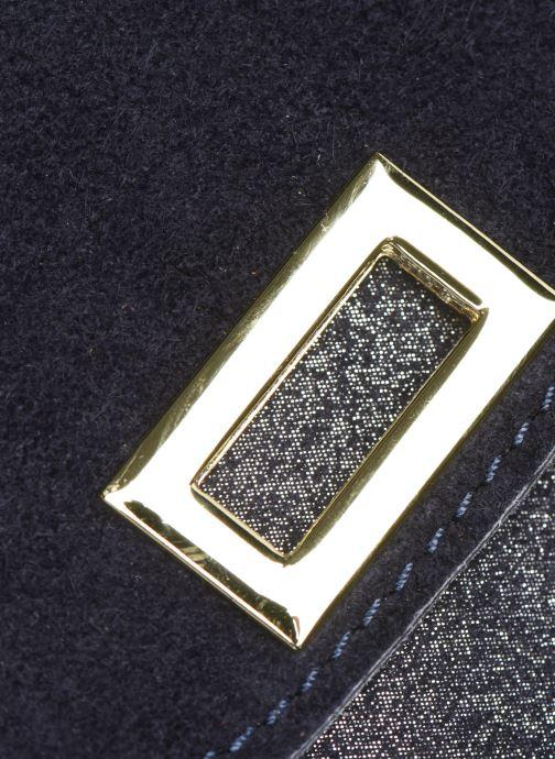 Sacs à main Georgia Rose Meloute Leather Bleu vue gauche