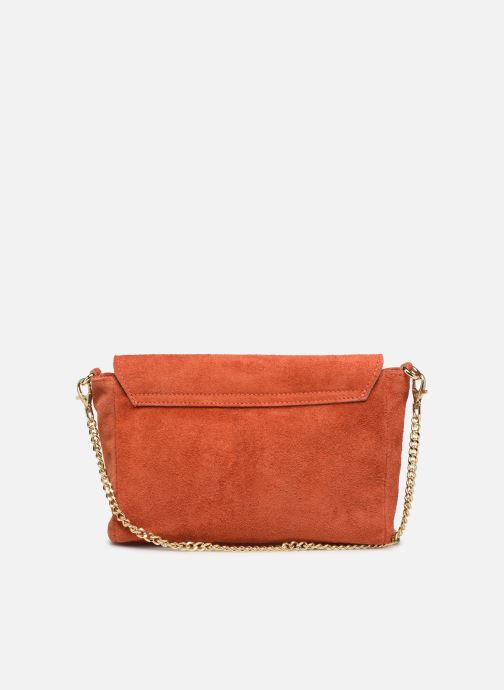 Sacs à main Georgia Rose Meloute Leather Orange vue face