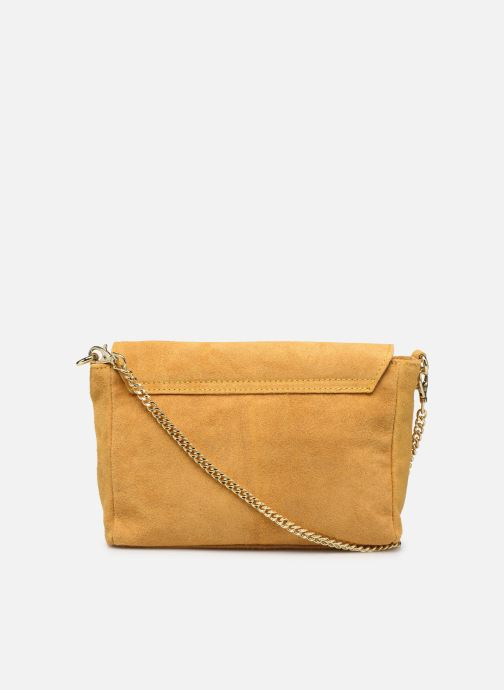 Bolsos de mano Georgia Rose Meloute Leather Amarillo vista de frente