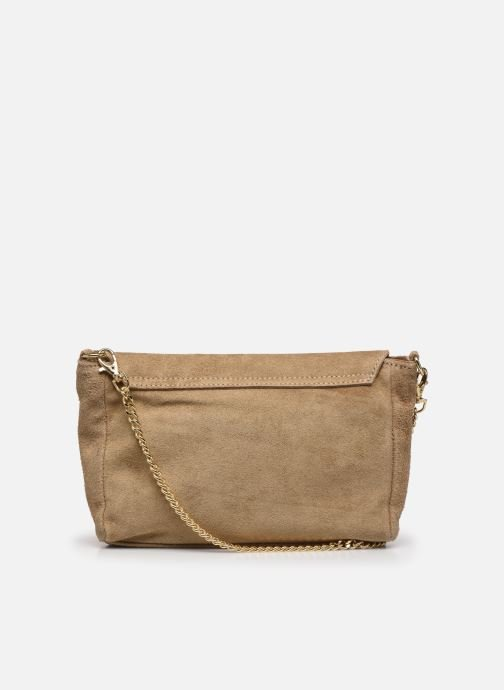 Bolsos de mano Georgia Rose Meloute Leather Beige vista de frente