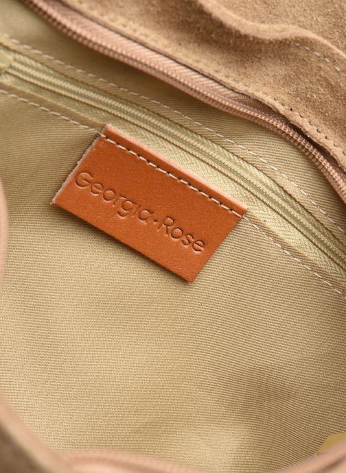 Borse Georgia Rose Meloute Leather Beige immagine posteriore