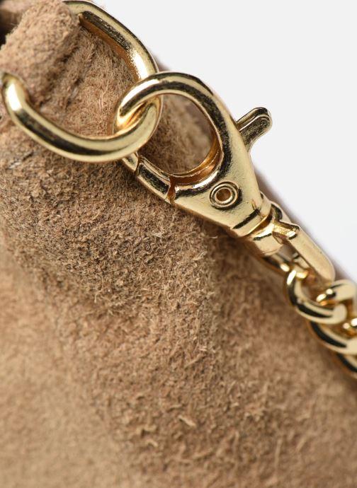 Bolsos de mano Georgia Rose Meloute Leather Beige vista lateral izquierda