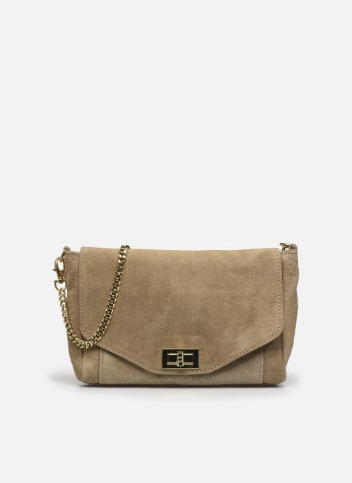 Bolsos de mano Georgia Rose Meloute Leather Beige vista de detalle / par