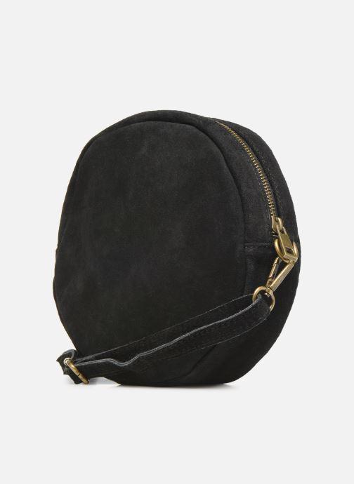Sacs à main Georgia Rose Mirond Leather Noir vue droite