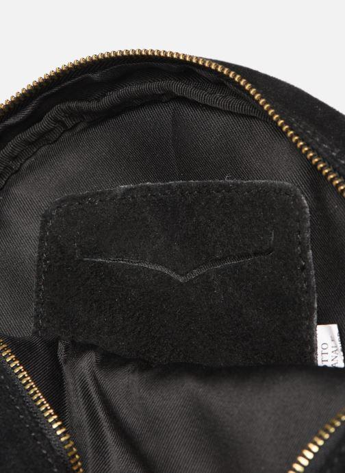 Sacs à main Georgia Rose Mirond Leather Noir vue derrière