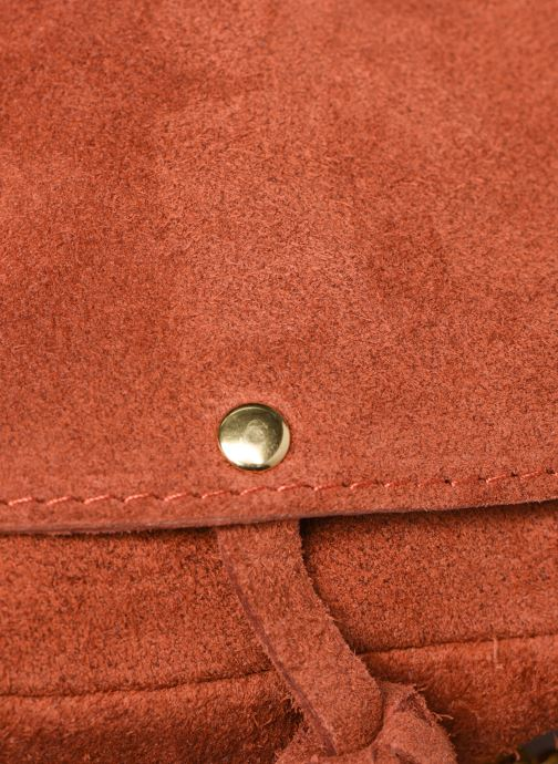 Sacs à main Georgia Rose Minibli Leather Marron vue gauche