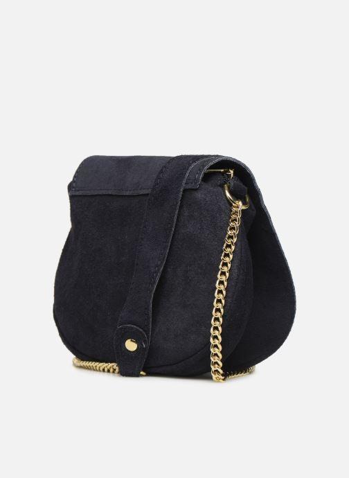 Håndtasker Georgia Rose Minibli Leather Blå Se fra højre