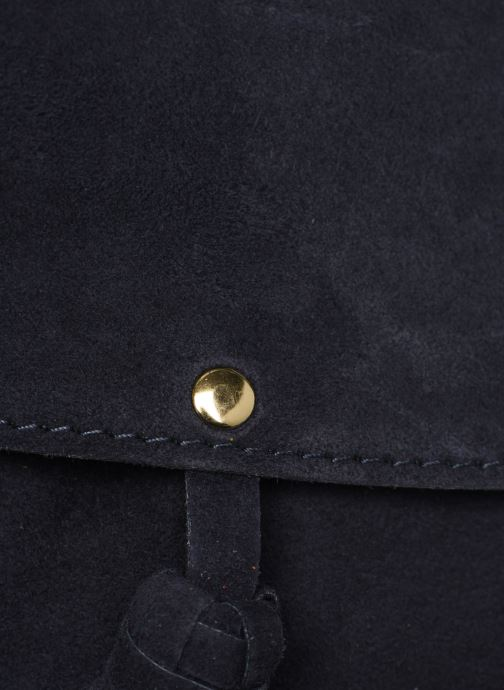 Sacs à main Georgia Rose Minibli Leather Bleu vue gauche