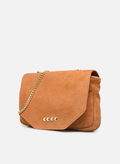 Handtassen Georgia Rose Melia Leather Bruin model