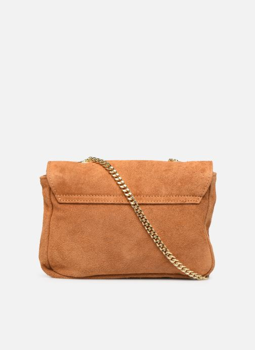Handbags Georgia Rose Melia Leather Brown front view