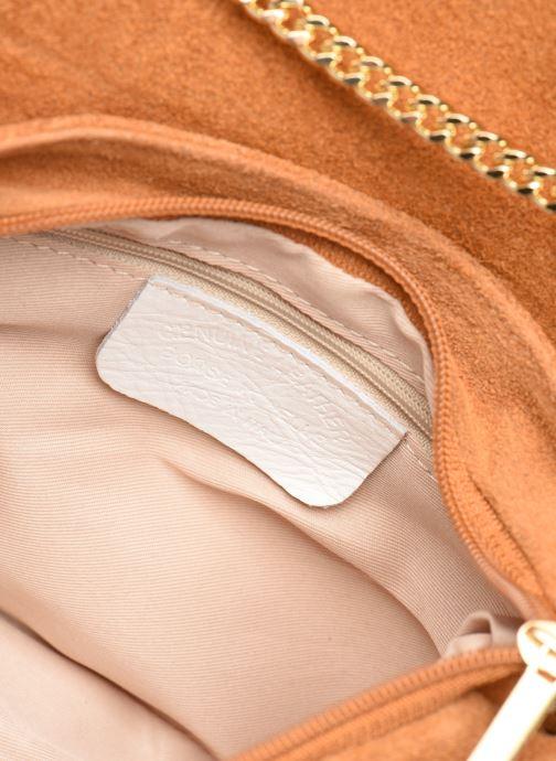 Handtassen Georgia Rose Melia Leather Bruin achterkant