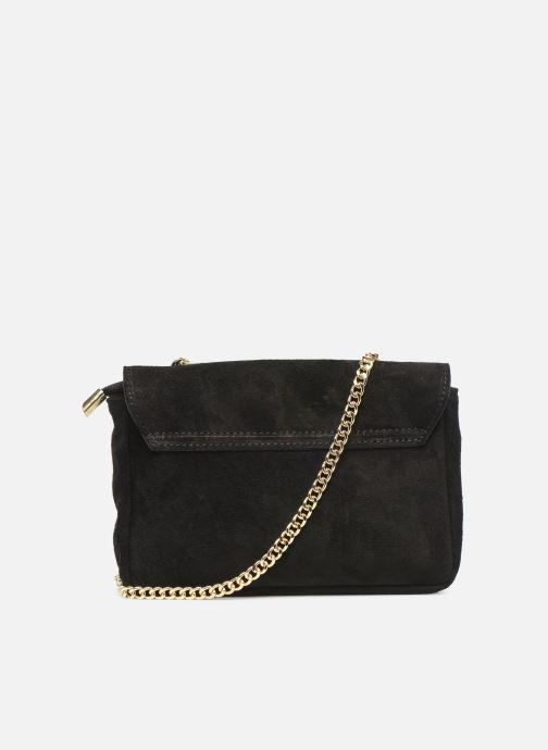 Handbags Georgia Rose Melia Leather Black front view