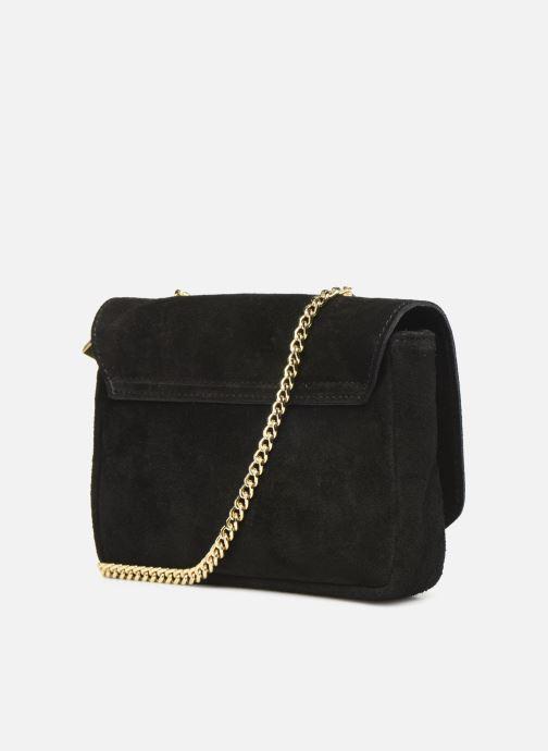 Handtassen Georgia Rose Melia Leather Zwart rechts