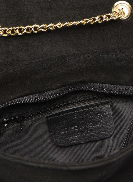 Handtassen Georgia Rose Melia Leather Zwart achterkant