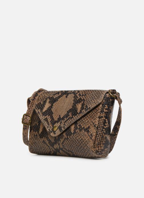 Handtaschen Georgia Rose Maya Leather braun schuhe getragen