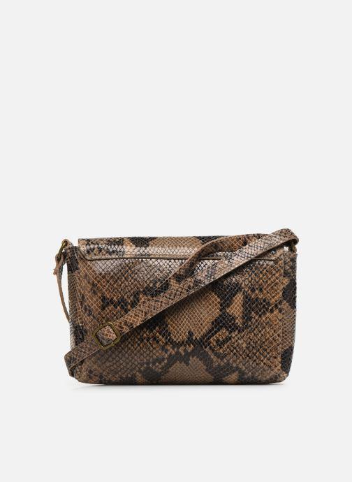 Handtaschen Georgia Rose Maya Leather braun ansicht von vorne