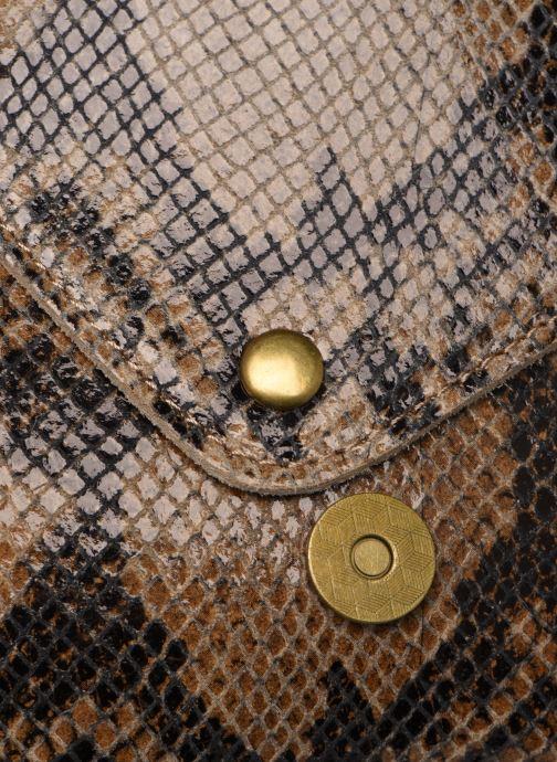 Handtaschen Georgia Rose Maya Leather braun ansicht von links