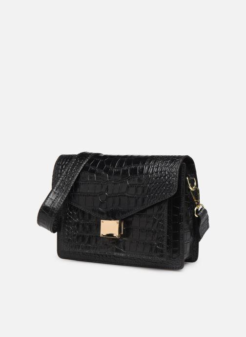 Handtaschen Georgia Rose Macroco Leather schwarz schuhe getragen