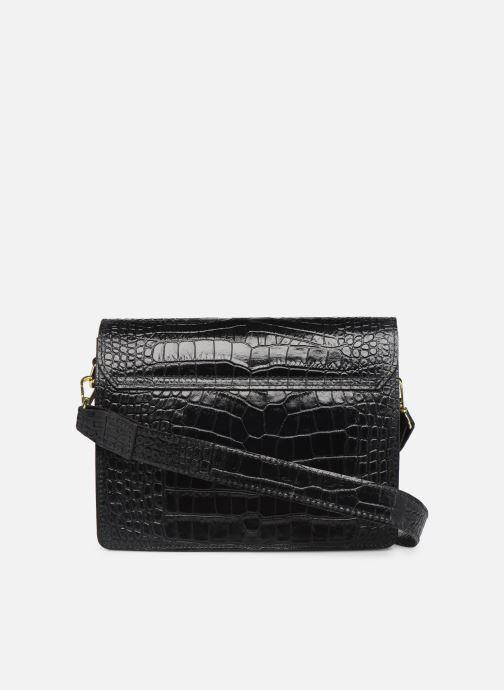 Håndtasker Georgia Rose Macroco Leather Sort se forfra