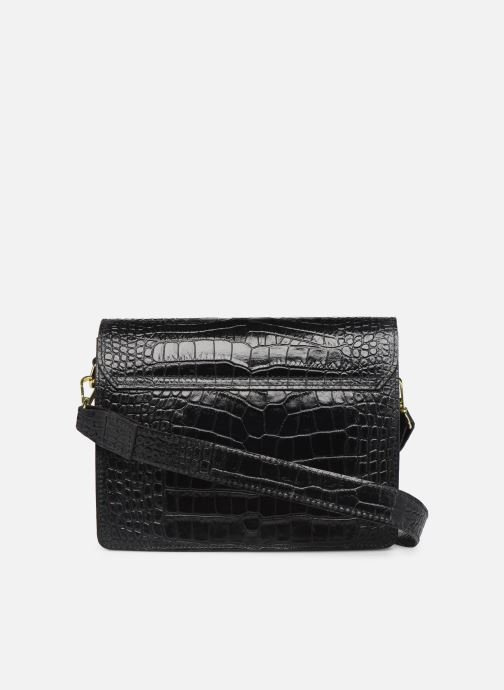 Handtaschen Georgia Rose Macroco Leather schwarz ansicht von vorne