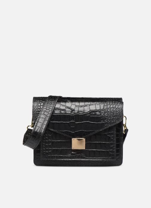 Sacs à main Georgia Rose Macroco Leather Noir vue détail/paire