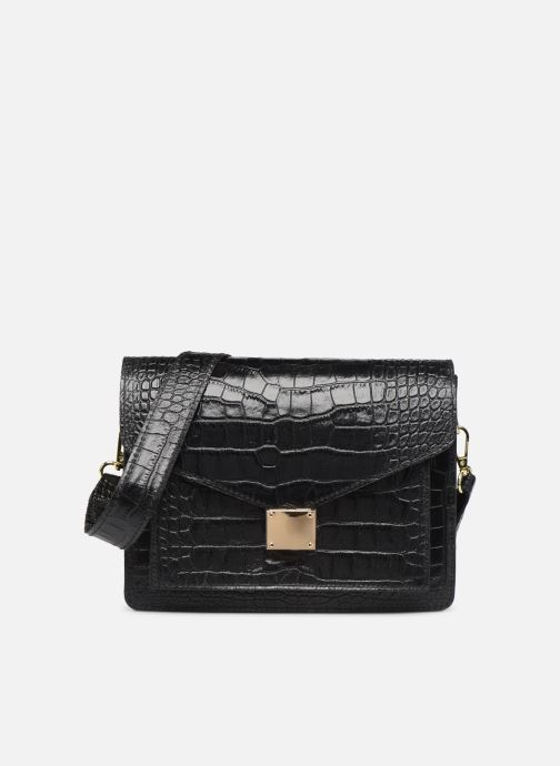 Handtassen Georgia Rose Macroco Leather Zwart detail