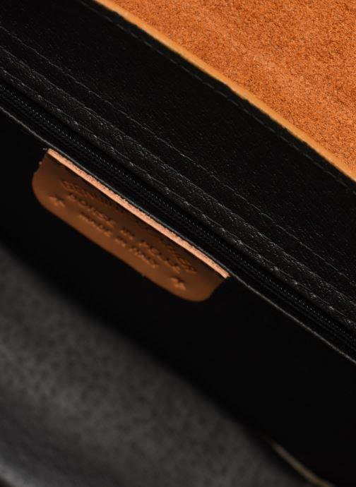 Bolsos de mano Georgia Rose Macroco Leather Marrón vistra trasera