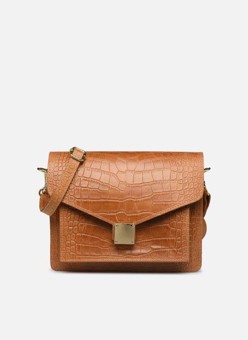 Bolsos de mano Georgia Rose Macroco Leather Marrón vista de detalle / par
