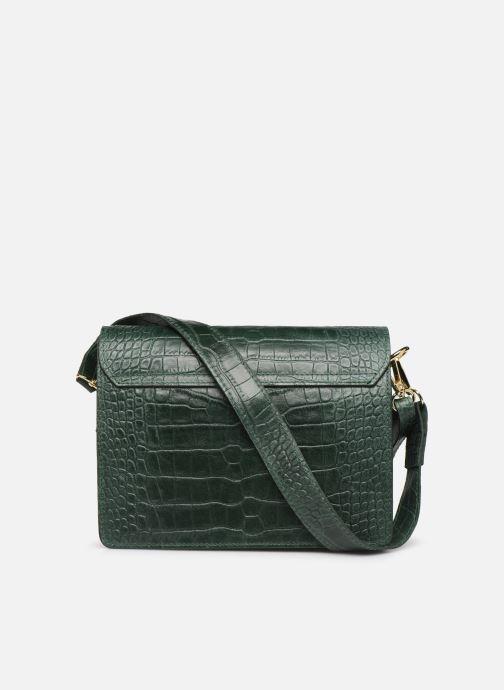 Handbags Georgia Rose Macroco Leather Green front view