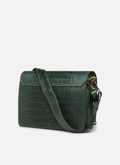 Handbags Georgia Rose Macroco Leather Green view from the right