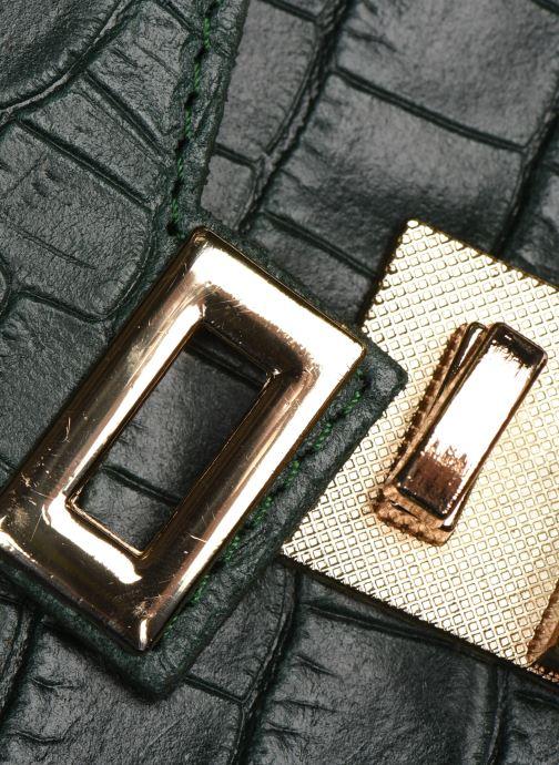 Sacs à main Georgia Rose Macroco Leather Vert vue gauche