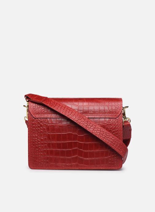 Handtaschen Georgia Rose Macroco Leather rot ansicht von vorne