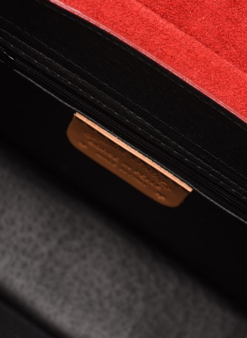 Handtaschen Georgia Rose Macroco Leather rot ansicht von hinten