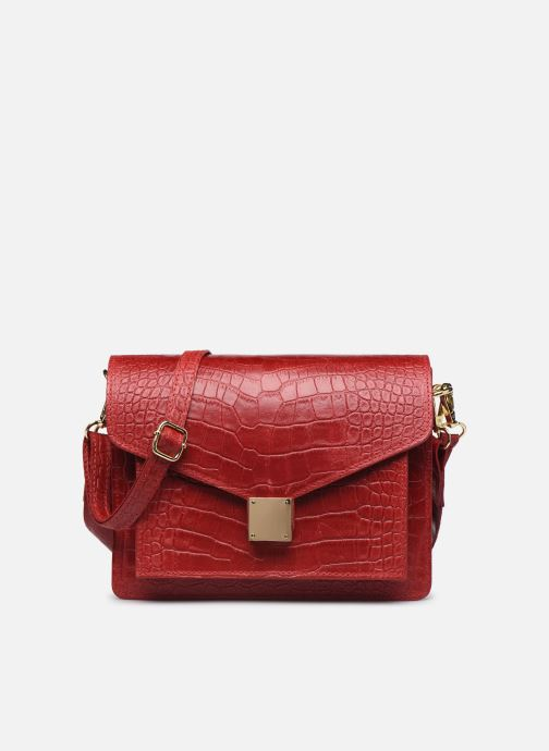 Sacs à main Georgia Rose Macroco Leather Rouge vue détail/paire