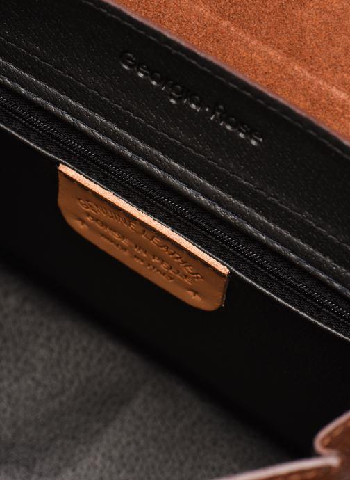 Borse Georgia Rose Macroco Leather Marrone immagine posteriore