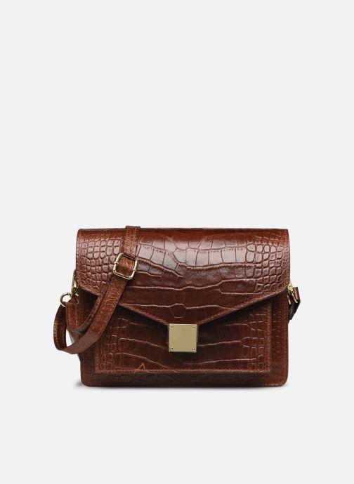 Sacs à main Georgia Rose Macroco Leather Marron vue détail/paire