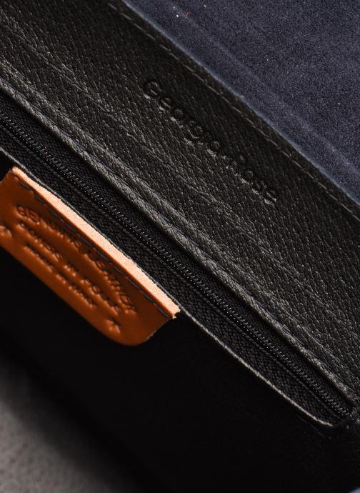 Sacs à main Georgia Rose Macroco Leather Bleu vue derrière