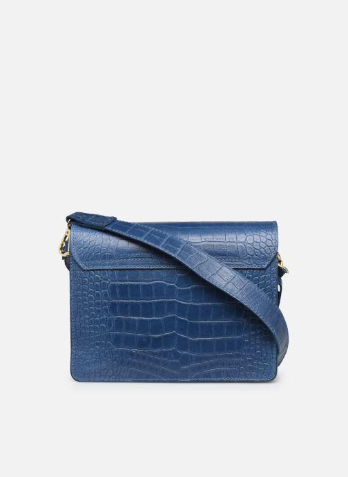 Handtaschen Georgia Rose Macroco Leather blau ansicht von vorne